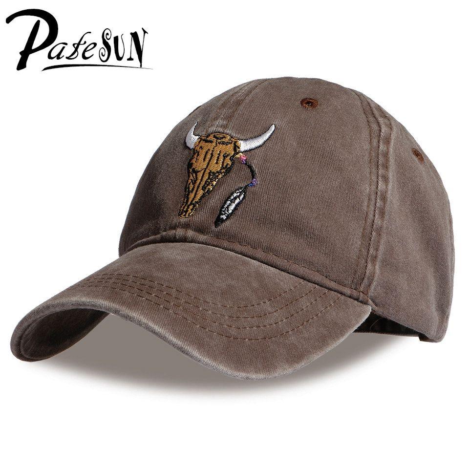 PATESUN 2017 Brand New Baseball Caps Customized Designer 6 Panel Dad Hat Baseball Hat Travis Scotts rodeo Cap snapback caps