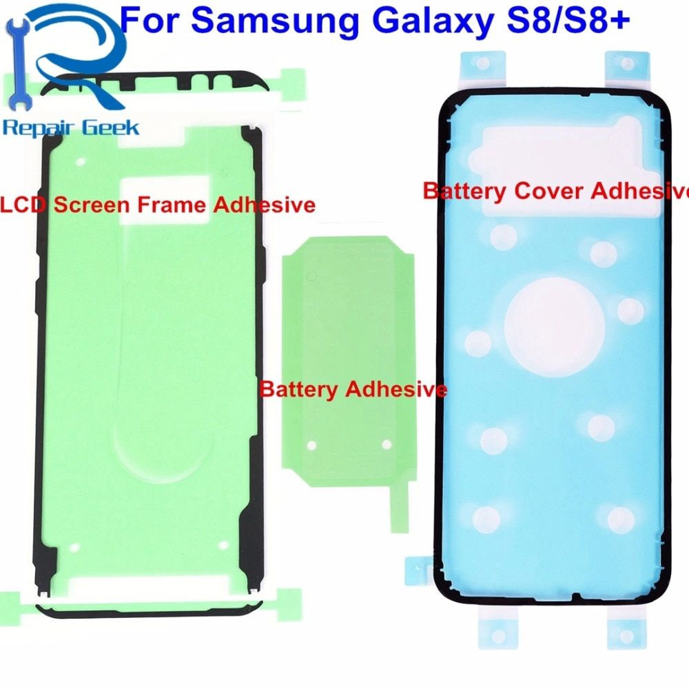 1pcs For Samsung Galaxy S8 G950 S8+ Plus G955 LCD Screen Frame Adhesive +Battery Cover Adhesive+Battery Adhesive Repair