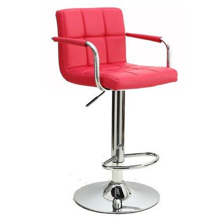 Rose red chair hotel hair salon stool blue pink green color Southeast Asian shop seat free shipping