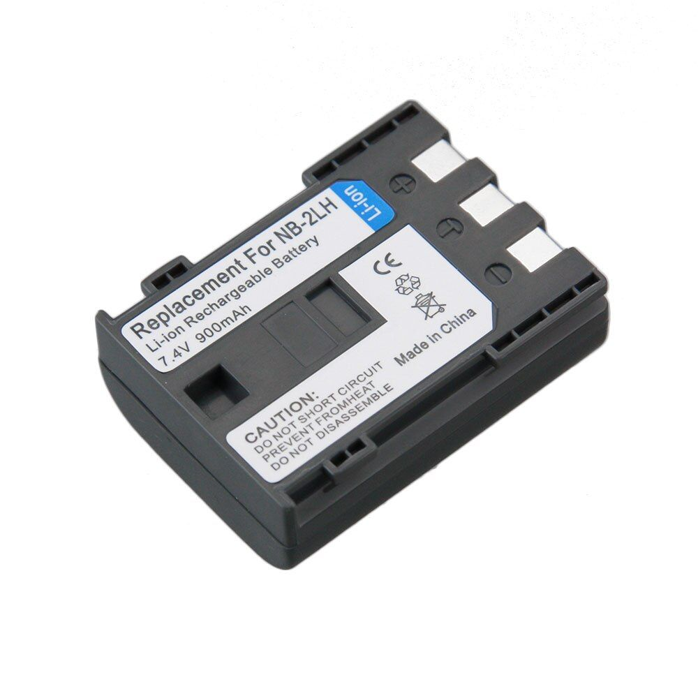 Real Capacity 1PCS NB-2L NB 2L NB2L NB-2LH Camera Rechargeable Li-ion Battery for CANON 350D 400D G7 G9 S30 S40 EOS Powershot