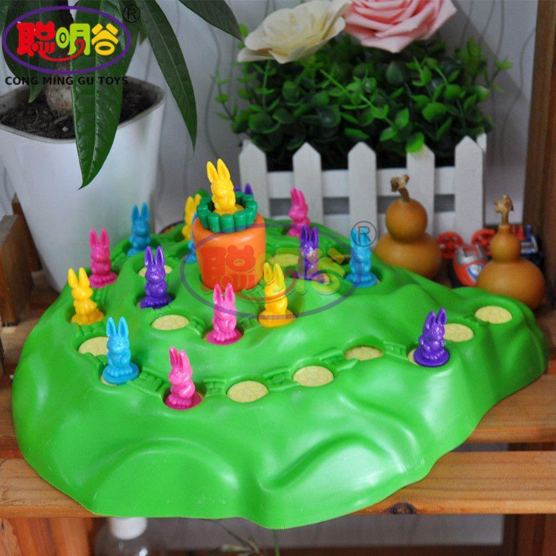 Congminggu Забавные игрушки кролика беговые игра-головоломка детский шахматы интеллектуальной настольные игры Детская Игрушки более