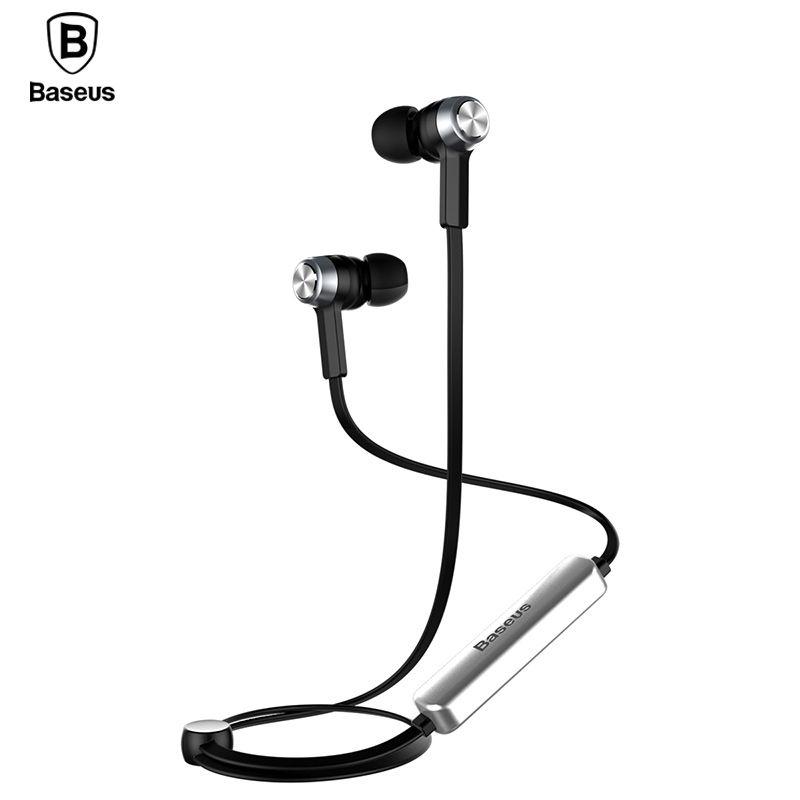 Baseus B11 Magnet Drahtlose Bluetooth Kopfhörer Sport V4.1 Bluetooth Headset Kopfhörer Mit Mic Stereo Ohrhörer Für iPhone Xiaomi