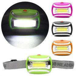 Extérieur LED Projecteur Torche 5 W Phare 600 Lumens Réglable Angle Phare AAA batteries lampe frontale linterna de faro