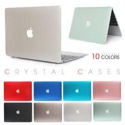 Кристалл прозрачный Touch Bar чехол для Apple Macbook Air Pro retina 11 12 13 15 крышки ноутбука сумка для Mac 13,3 дюйма + подарок