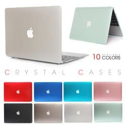 Crystal Transparent Touch Bar Case For Apple Macbook Air Pro Retina 11 12 13 15 Laptop Cover Bag For Mac Laptop 13.3 inch