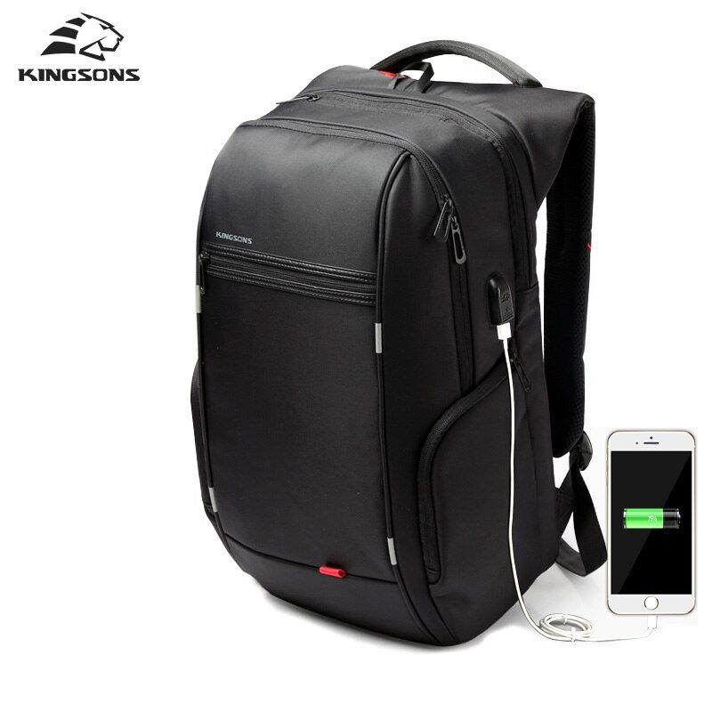 Kingsons 2018 Best Travel Business Backpack Male Laptop Bag Anti theft Mochila Travel Work Men Backpack Design Everyday Bagpack