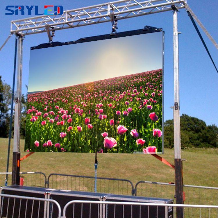 Outdoor P4.81 Vermietung 500x500mm Druckguss Aluminium SMD RGB LED Video Display Schrank (P3.91/ p5.95/P6.25 verfügbar)