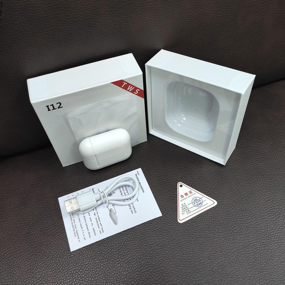 SWZYOR Mini i12 TWS Bluetooth 5.0 Earphone Sports True Wireless Earbuds Touch Earphones Magnetic Charging Box PK i10 i11