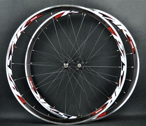 PASAK Road Bike Bicycle 700C Sealed Bearings ultra light Wheels Wheelset Rim 11 speed support 1650g 30MM Rims