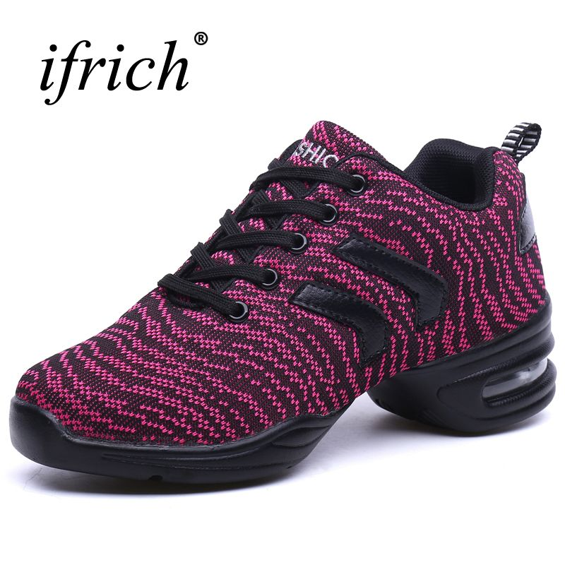 Ladies Ballroom Dance Shoes Purple/Gray Dance Practice Shoes Comfortable Women Shoes Dancing Super Light Modern Ladies Shoes