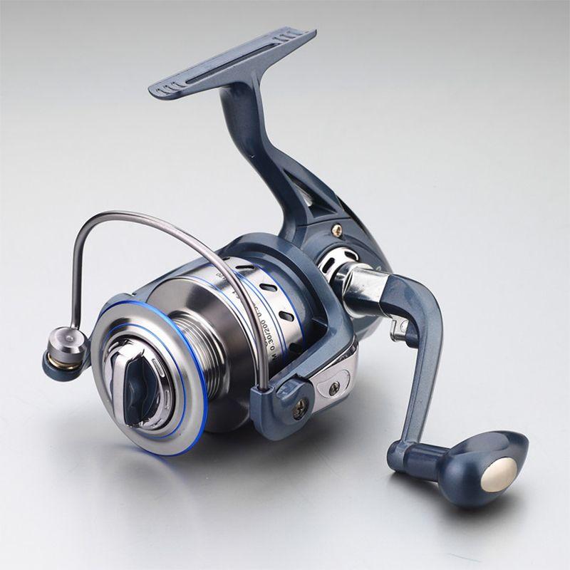 2018 Gapless Spinning Fishing Reel 13BB JF1000-7000 5.5:1 Metal Carp Fishing Wheel Spinning Reel For Fishing New fishing vessel
