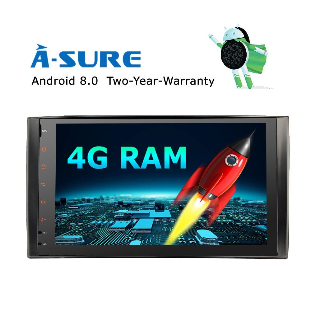 A-Sure Car GPS Android 8.0 8 core 4 GB RAM 32 GB ROM For Mercedes Class A Class B Class C Class CLK M/ML Radio RDS WIFI