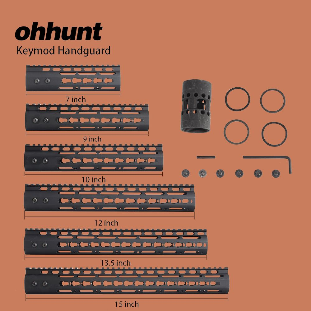 Ohhunt chasse tactique AR-15 Rail NSR 7