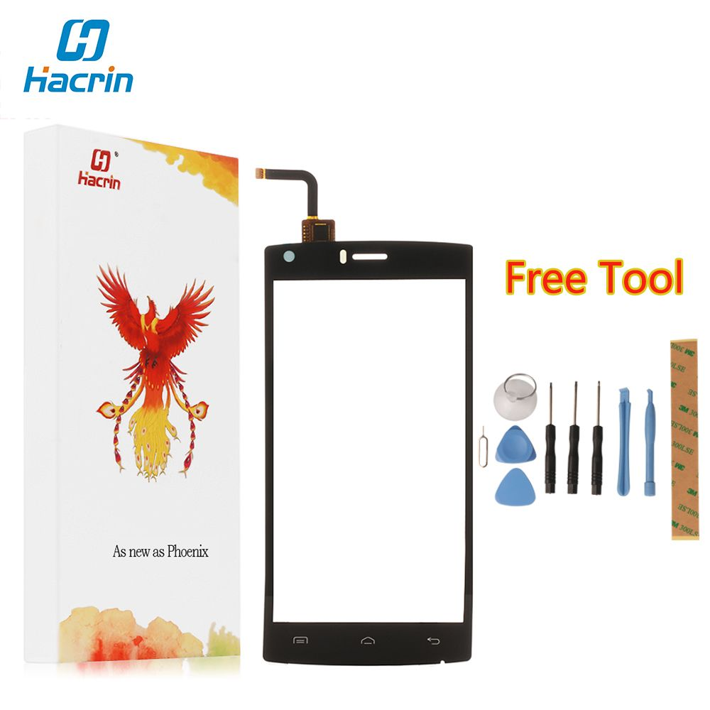 Hacrin For DOOGEE X5 MAX PRO Touch screen 100% New Digitizer Screen Glass Panel Replacement For DOOGEE X5 MAX PRO Phone