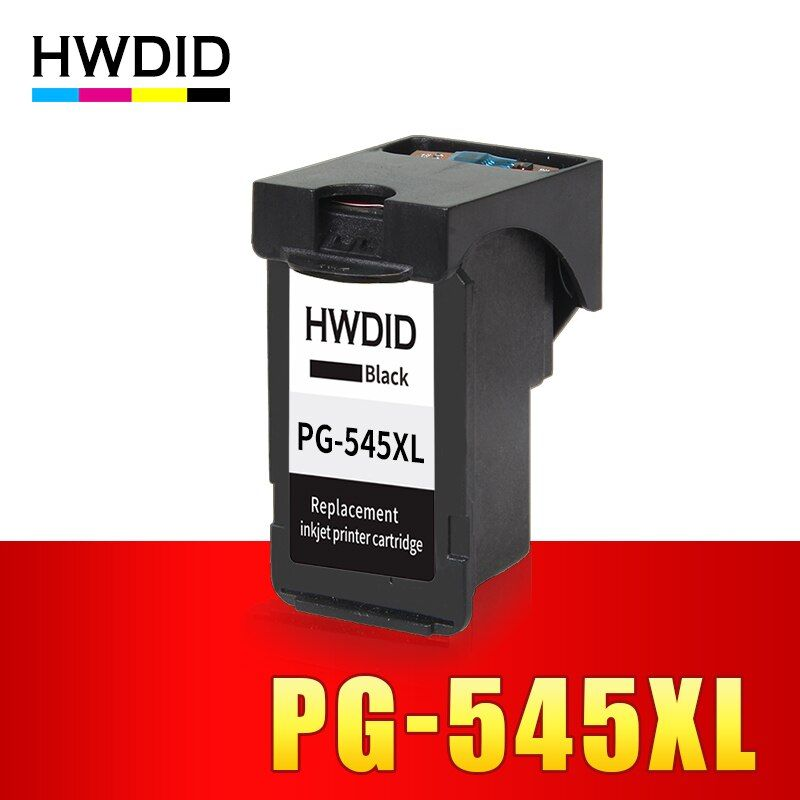 HWDID PG545 Black ink cartridge replacement for Canon PG-545 PG 545 XL for Canon IP2850 MG2400 MG2450 MG2500 MG2550 Printers