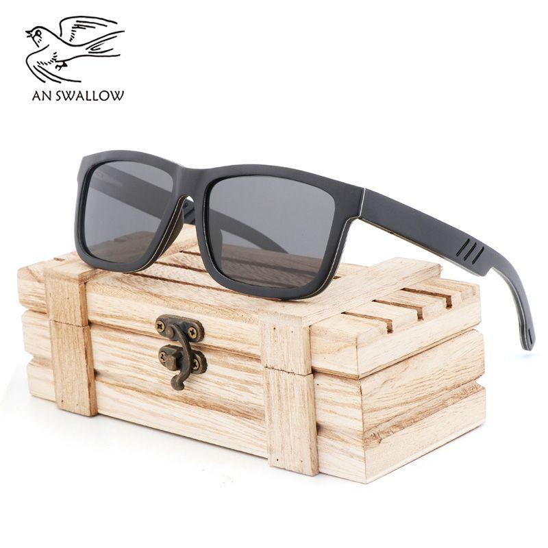 Neue mode klassische trendy männer und frauen sandwich sonnenbrille TAC material objektiv polarisierende anti-glare anti-uv-Sonnenbrille