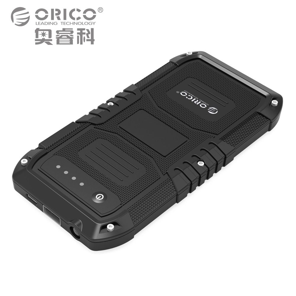 ORICO Multi-Function 4000mAh Car Emergency Battery Charger Mini Portable Mobile Power Bank  Booster Starting Power Bank
