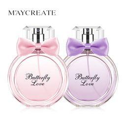 MayCreate 50 ML Marque Femmes Long Lasting Parfum Atomiseur Bouteille De Parfum En Verre Parfum Femme Parfum Spray Parfum Feminino Parfum