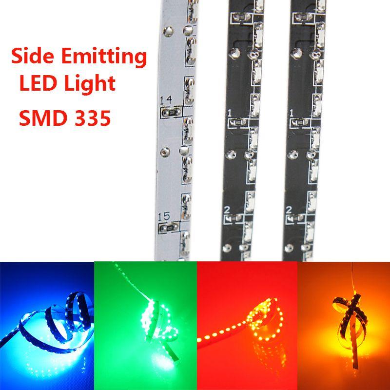 Bandes de lumière LED émettrices latérales lumière de bande de LED d'intérieur avec 120 LED s par mètre SMD LED 335