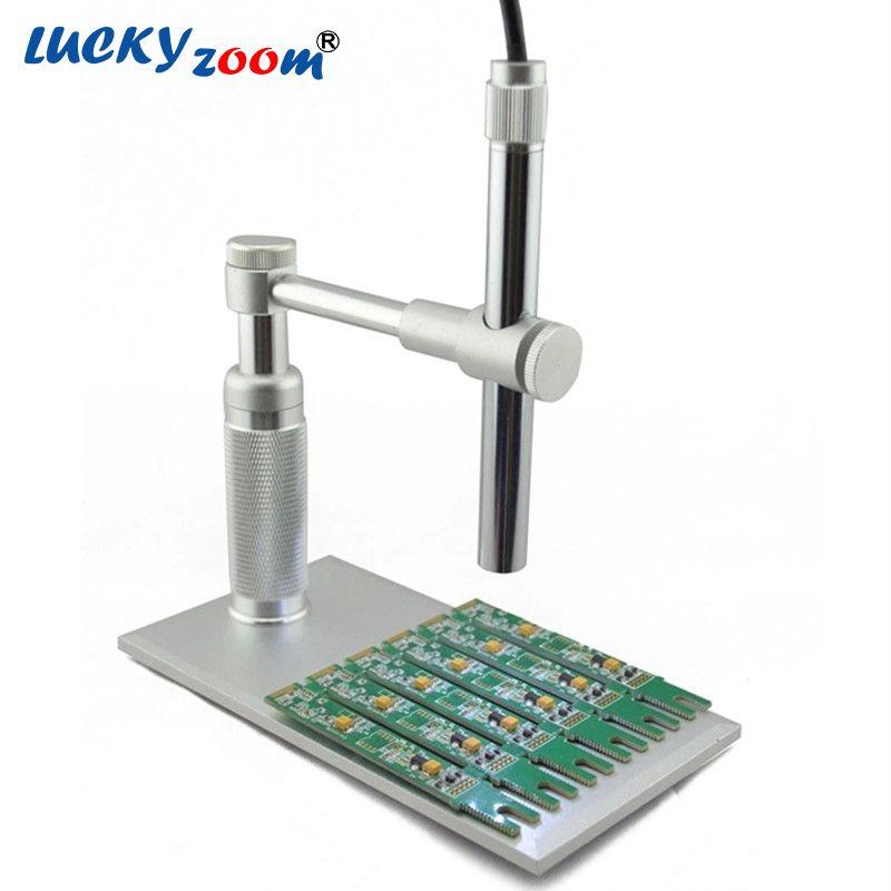 1-500x zoom 2MP HD USB Microscope numérique 8 LED caméra vidéo électronique stylo électronique Endoscope loupe pour la réparation de circuits