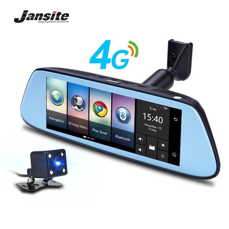 Jansite 8 4g Spezielle Spiegel Auto DVR Kamera Android 5.1 mit GPS DVRs Automobil Video Recorder Rückspiegel Kamera dash Cam