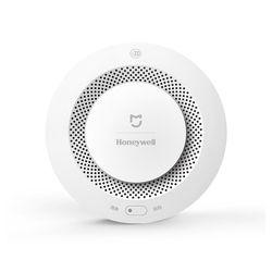 Original Xiaomi Mijia Honeywell Fire Alarm Detector Audible Visual Smoke Sensor Remote Mi Home Smart APP Control