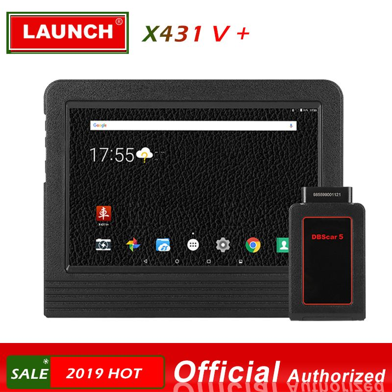 Original Launch X431 V Plus Auto Diagnose Scanner Full System Diagnose Scan Tool Universal Professionelle Motor Analysator
