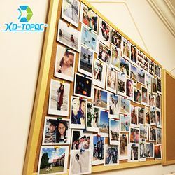 New 2018 Wooden Frame Cork Bulletin Board Notice Push Pin Boards Office Supplier 40*60cm Home Decorative With Free Accessories