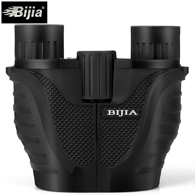 BIJIA 10x25 Mini Binocular Professional Binoculars Telescope Opera Glasses for Travel Concert Outdoor Sports Hunting