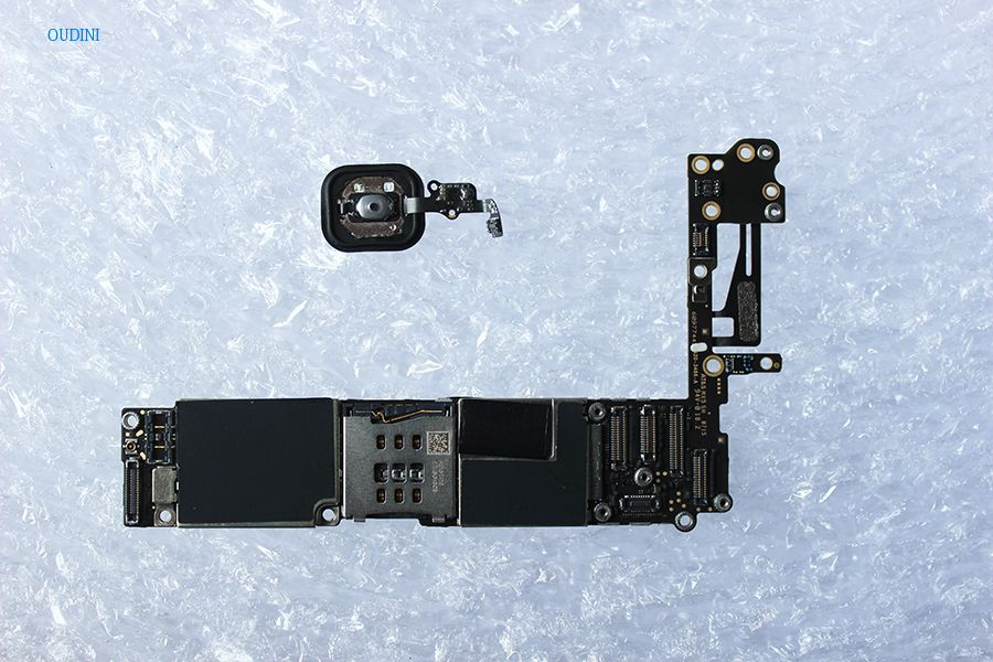 Oudini ENTSPERRT 16 gb für iphone 6 Motherboard mit Touch ID, Original Entsperrt für iphone 6 Mainboard haben Fingerabdruck