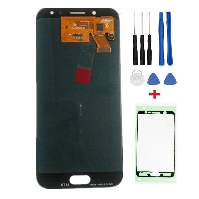 Coreprime 100% Tested Working AMOLED LCD Display Touch Screen Assembly For Samsung Galaxy J5 2017 J530 SM-J530F J530M+Tools+Tape