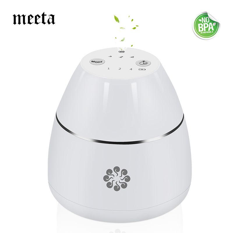 Waterless Aromatherapy Diffuser Essential Oil Diffuser Rechargeable Aroma Diffuser Nebulizer for Home Car Work Yoga Travel Spa