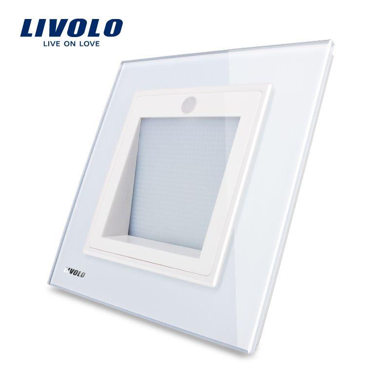 Manufacturer,Livolo New Arrival, UK Standard, Porch / Corridor /Corner Lamp, Footlights Switch, White Color, VL-W291JD-12