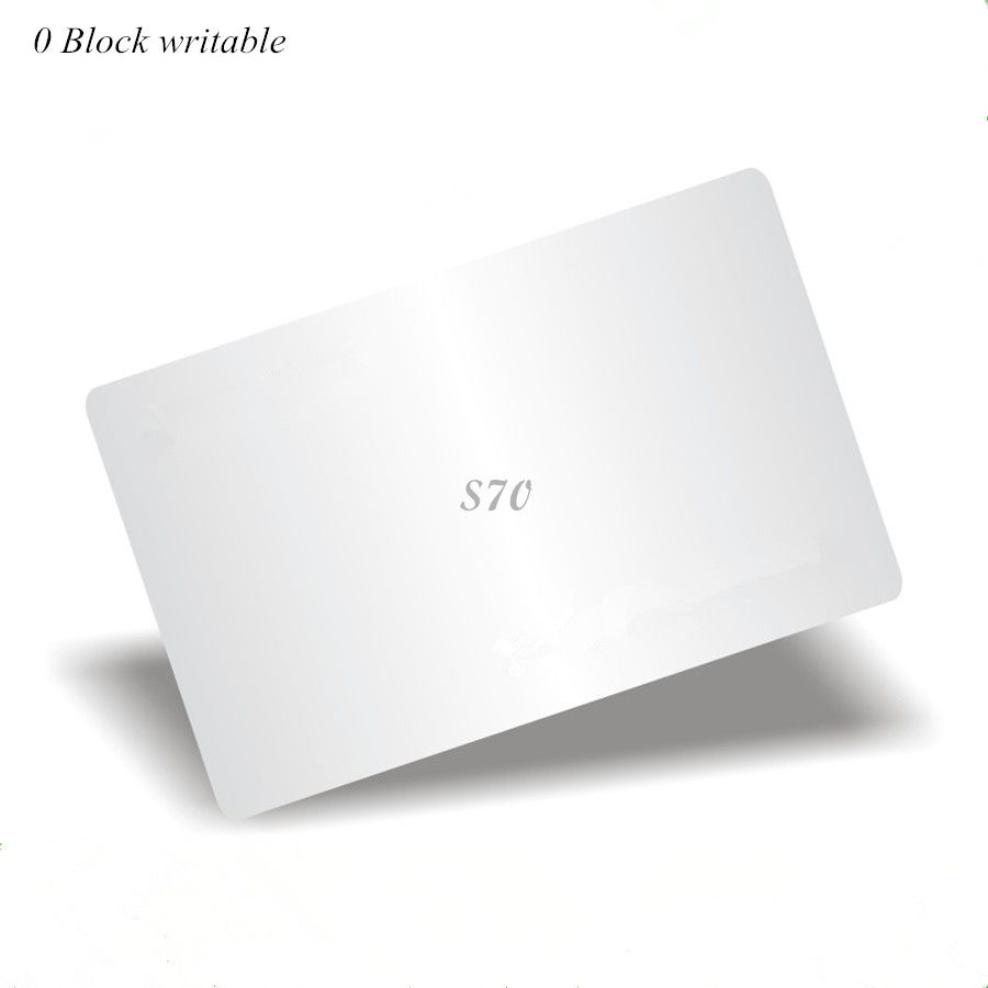 13.56Mhz M4k S70 7 octet UID modifiable Carte 0 bloc inscriptible Chinois Carte Magique