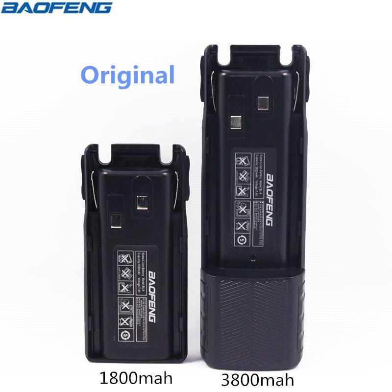 Original BAOFENG UV-82 BL-8 7.4V 1800&3800mah Li-ion Battery For Baofeng Walkie Talkie BF-UV82 Series Two Way Radio UV 82 Radio