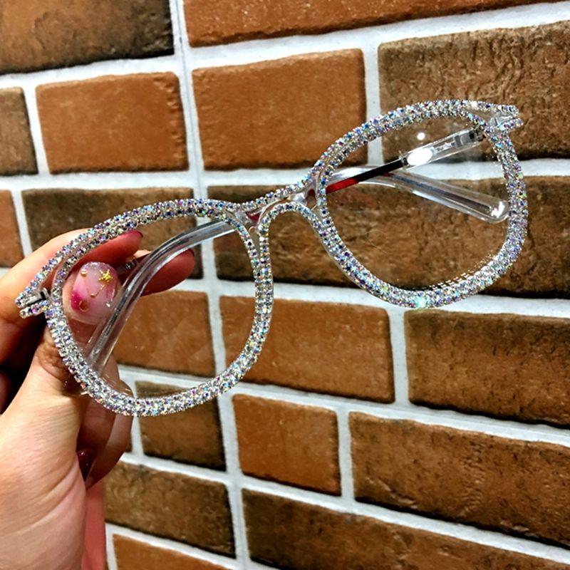 Or strass yeux de chat lunettes de soleil pour les femmes marque Designer nuances lunettes de soleil hommes Vintage métal clair lunettes UV400 lunettes de soleil