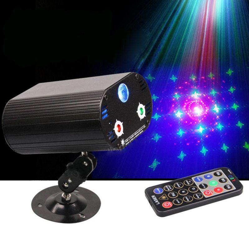3 Objektiv 36 Muster DJ Disco Bar Party Show Bühnenscheinwerfer RG BLUE FÜHRTE Neue Jahr Weihnachten Party Laser Projektor Bühnenbeleuchtung