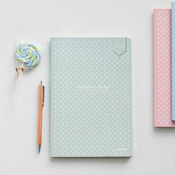 Portable en pointillés Papeterie Treillis Creative Livre Simple Couverture Souple Bullet Journal Bujo