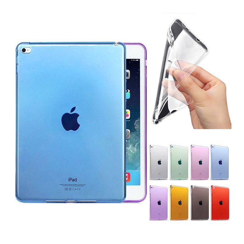 Fall für ipad 9,7 zoll 2017, weiche Transparente TPU Fall-abdeckung für Apple 9,7 zoll 2017 Schutzhülle Haut tablet