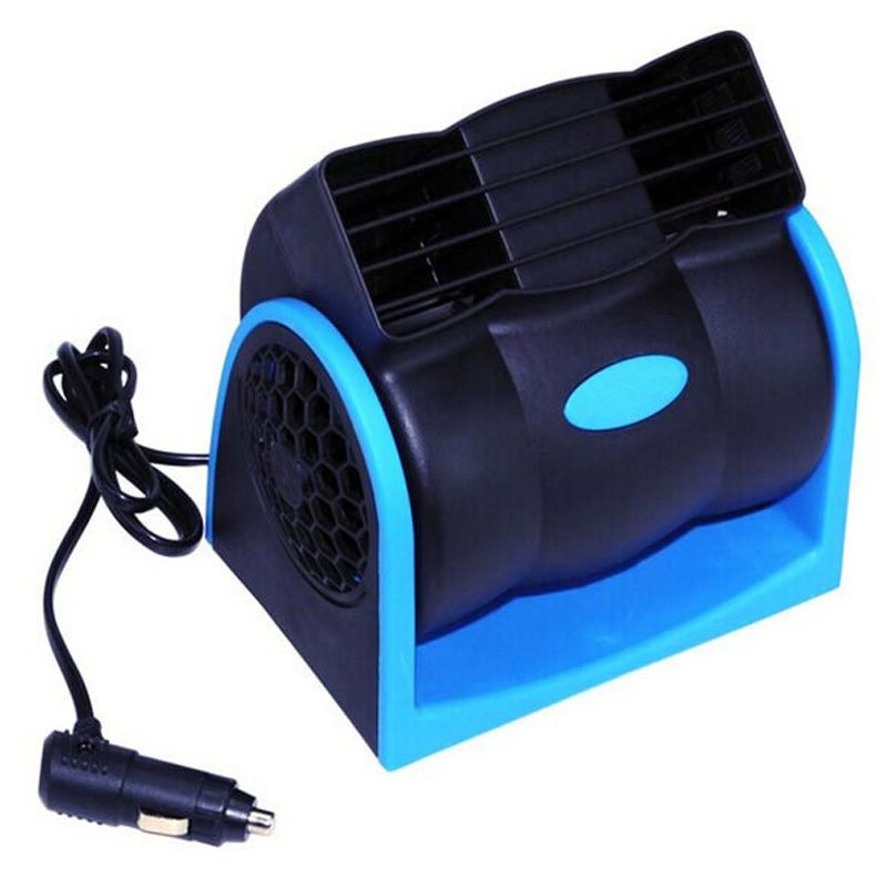 Creative Car Vehicle Truck Cooling Air Fan 12V Adjustable Silent Cooler Speed with Car Chagrer Plug Cable Free Shipping