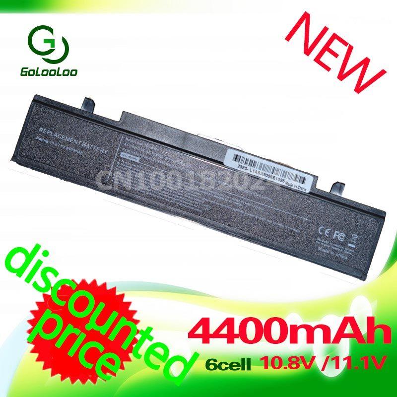 Golooloo <font><b>4400mah</b></font> Laptop Battery For Samsung R428 R429 R468 NP355V5C AA PB9NC6B AA PB9NS6B AA-PB9NS6W AA-PB9NC6W AA-PL9NC6B RV520