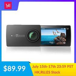 Экшн камера YI 4K | Матрица SONY IMX377 | Сенсорный экран диагональю 2,19