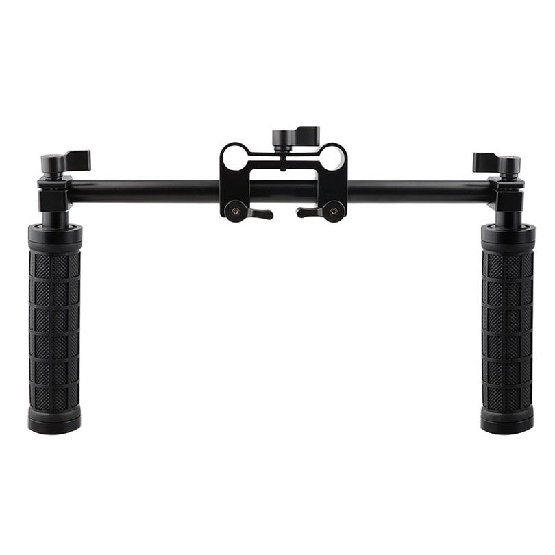CAMVATE Caméra Poignée Grip 15mm Tige Pince de Support Rail System DSLR Épaule Rig Studio Photo Accessoires C1049