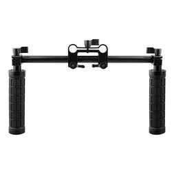 CAMVATE Camera Handle Grip 15mm Rod Clamp Support Rail System DSLR Shoulder Rig Studio Photo Accessories C1049