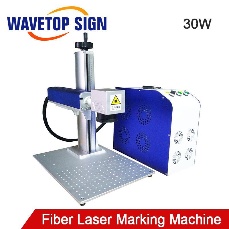 Split Typ Aluminium körper Faser Laser Kennzeichnung Maschine 30 watt Max Faser Laser Raycus Faserlaser IPG Fiber Laser Modul 30 watt