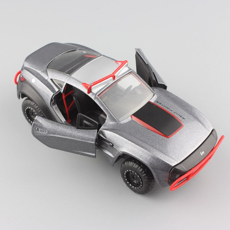 1:32 Scale Mini the Fast and Furious F8 Rally Local Motors Fighter Top Gear sport racing diecast metal auto cars model toys boys