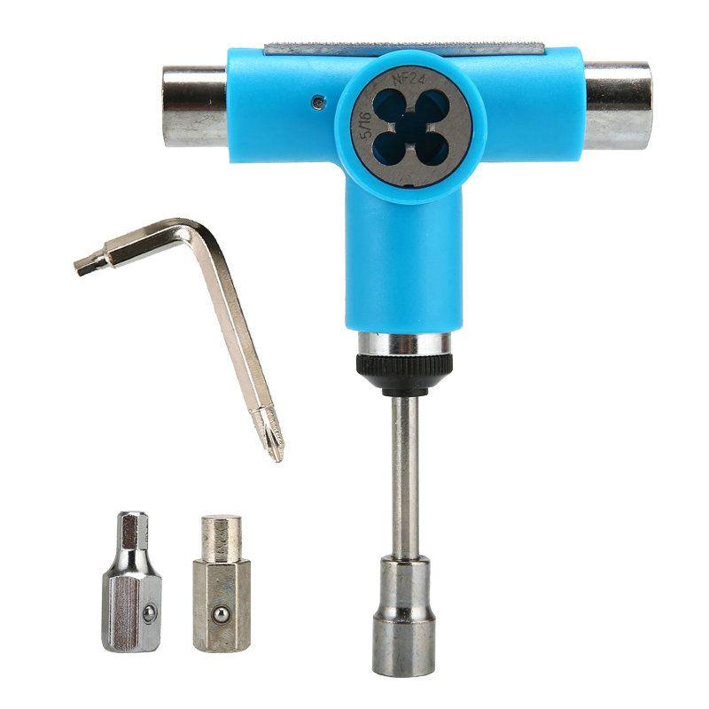 Nouveaux outils de planche à roulettes 1 pc patin à roulettes outil de réglage de planche à roulettes L clé Longboard outils de planche à poisson