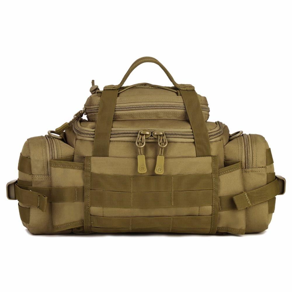 Outdoor Molle Military Waist Bags Waterproof SLR Cameras Waist Bags Fanny Pack BELT BAG Tactics Large Shouder Messenger Bags New