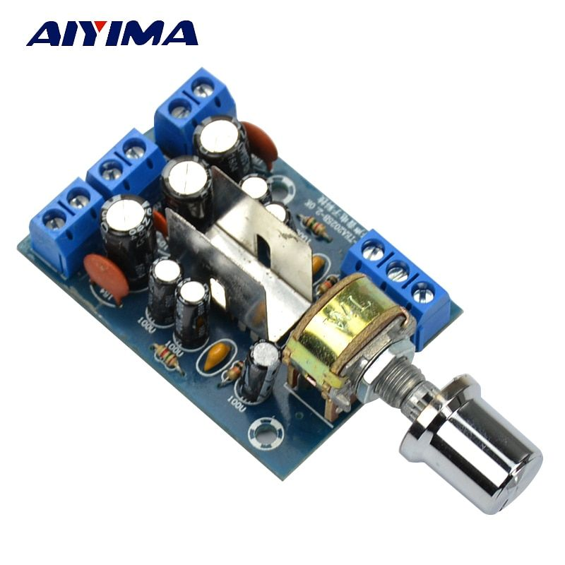 Aiyima TEA2025B 2.0 Stereo Dual Channel Mini Audio Amplifier Board For PC Speaker 3W+3W
