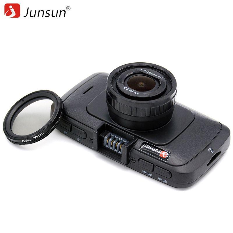 Junsun Ambarella A7LA70 Car DVR Camera GPS with Speedcam Full HD 1080p 60Fps Video Recorder Registrar Dash Cam Junsun A790